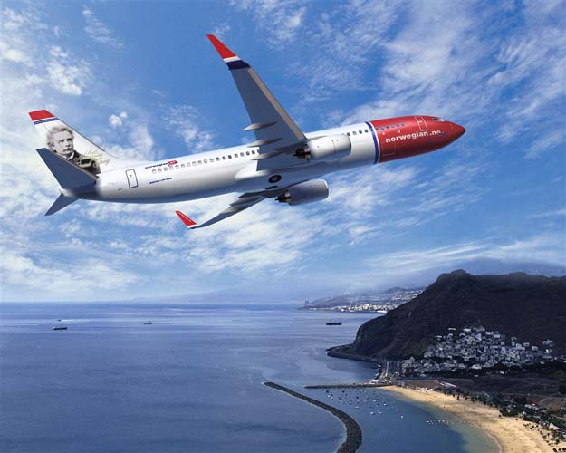Norwegian satsar på lågprisflyg i Europa