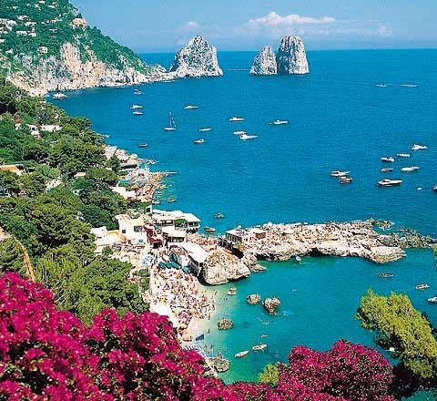 Lågprisflyg till Capri