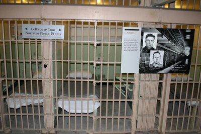 Fängslande semester på Alcatraz i San Francisco?