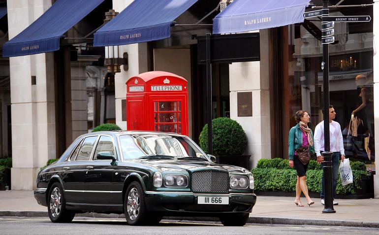 Shoppa efter din plånbok i London, högt som lågt...