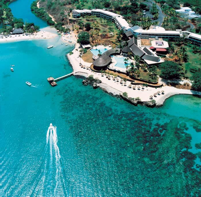 Vackra Mauritius når du med lågprisflyg