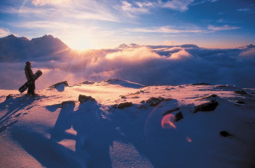 På världens topp - i Zell am See