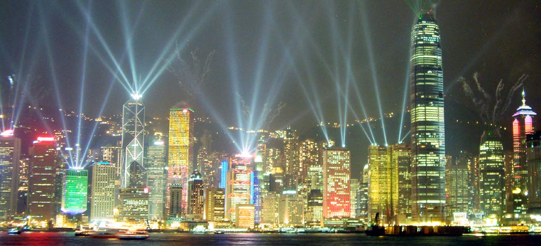 Symphony of Lights i Hongkong