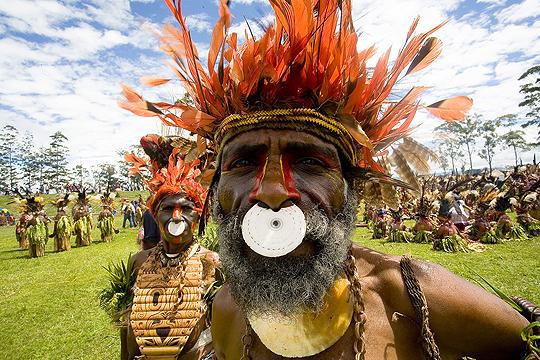 Ursprungsbefolkning på Papua Nya Guinea