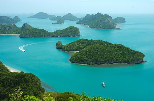 Thailand erbjuder en fantastisk naturupplevelse