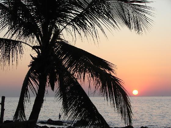 Solnedgång på Koh Lanta