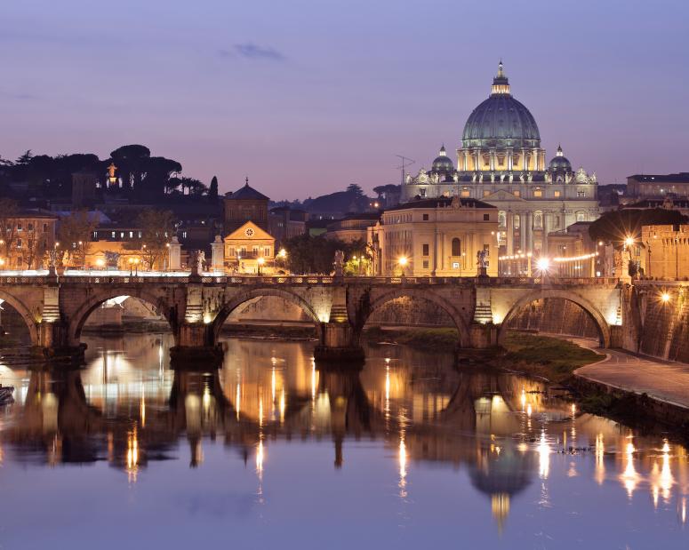 Rom by night - bättre kan det knappast bli