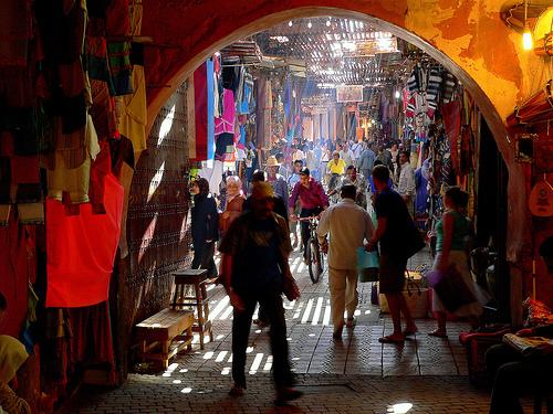Spännande i Marrakech
