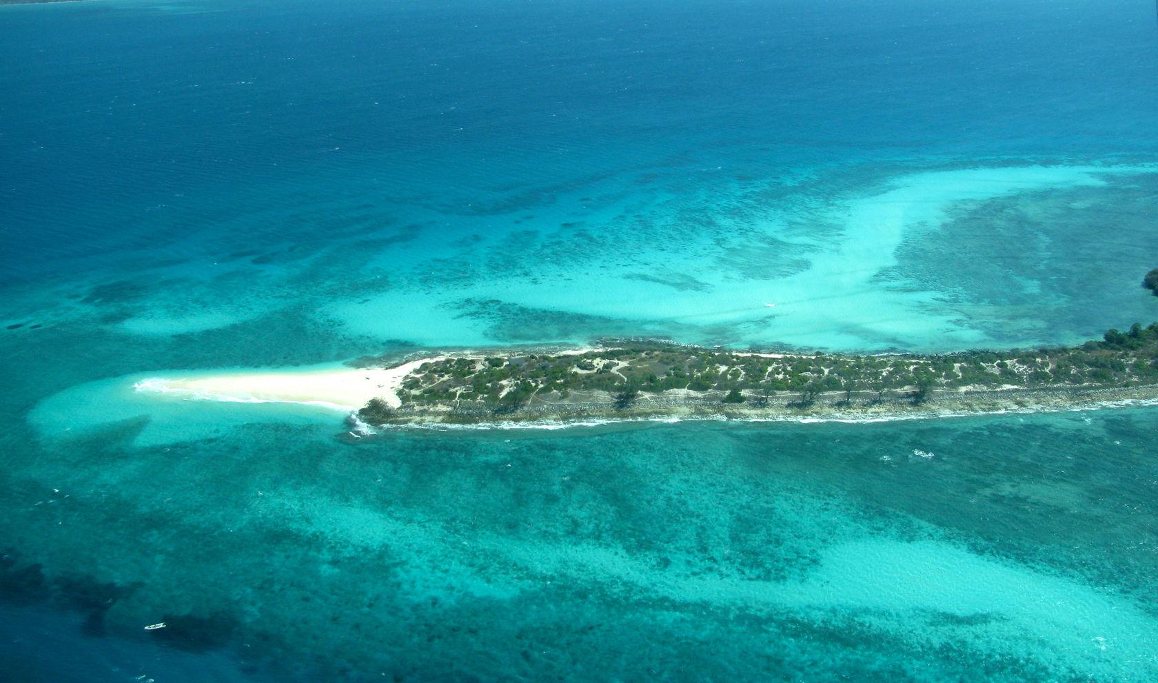 Quirimba i Mozambique består av flera underbara öar