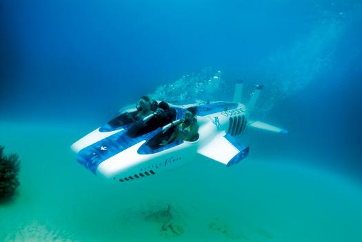 Necker Nymph är en ubåt för tre