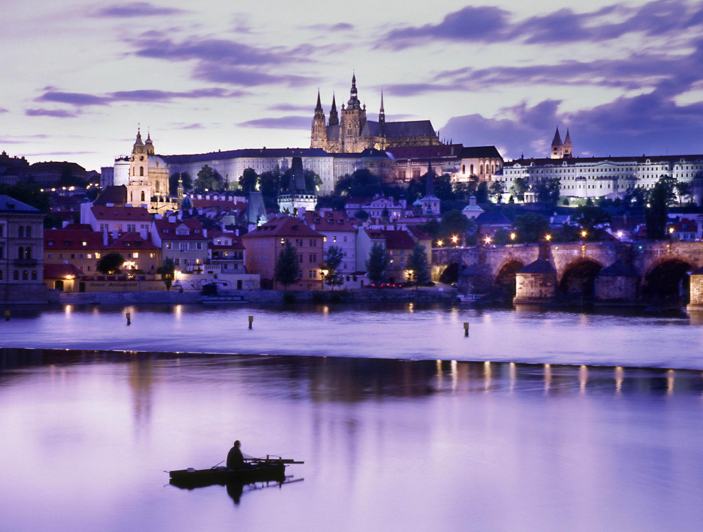 Prag har den där magiska charmen