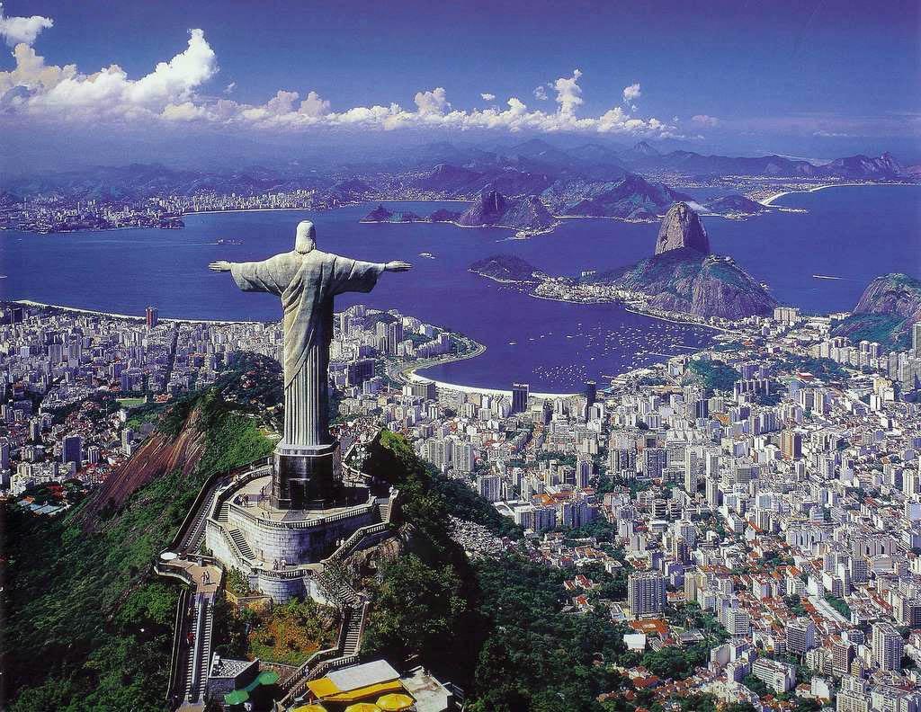 Rio de Janeiro är en av världens vackraste städer