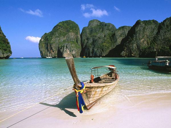 Du hiitar underbara öar i Thailand