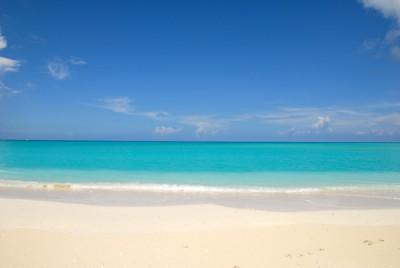Magisk strand vid Grace Bay